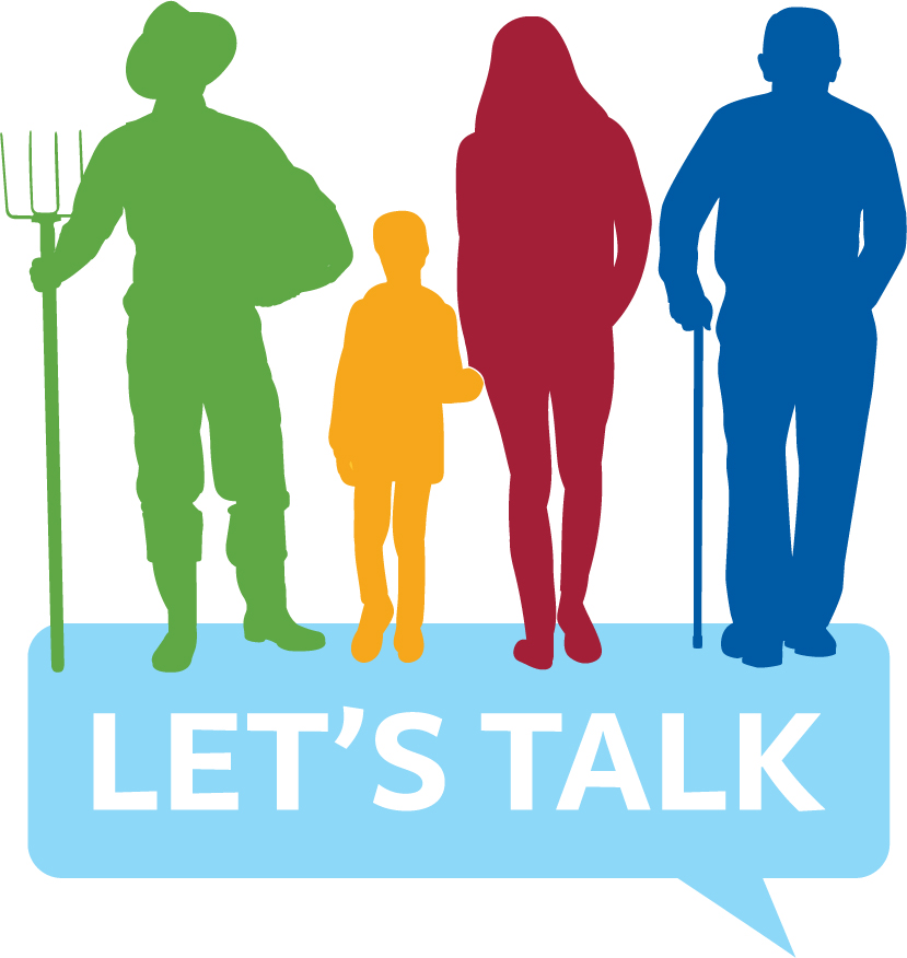 open new window to view our Let's Talk website