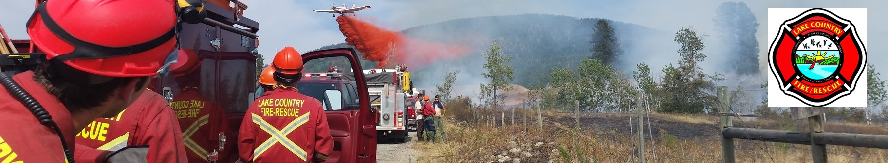 Lake Country volunteer firefighters fight a wildfire