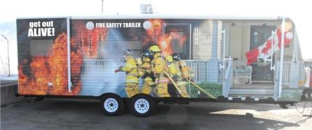 Fire Safety Trailer for the SAFE Program