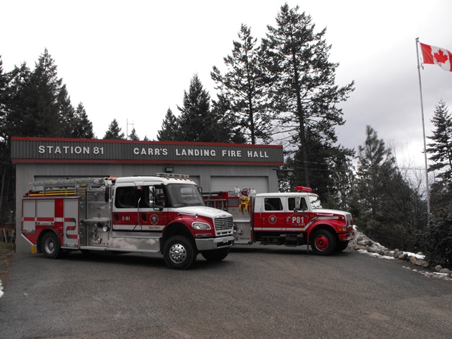 Station 81 at Carr's Landing